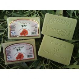 Olivové mýdlo s růží