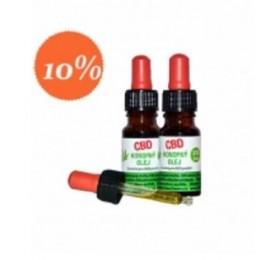 CBD Konopný olej, 10% ZZ