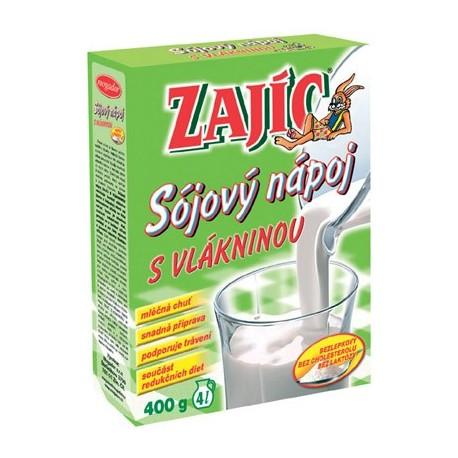 Sójový nápoj – s vlákninou Zajíc