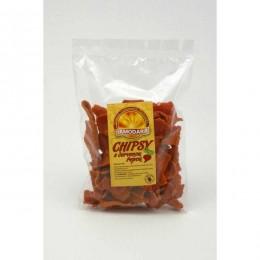 Luštěninové chipsy s červenou řepou 100g DAMODARA