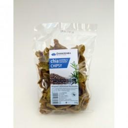 Luštěninové chipsy s chia semínkem a rozmarýnem 100g DAMODARA