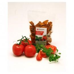 Luštěninové chipsy s rajčetem a oregánem 100g DAMODARA