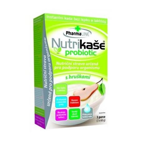 Nutrikaše probiotic s hruškou 180 g