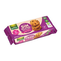 Chip choco cookies bezlepkové a bez cukru 130g Gullon