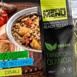 Tandoori Quinoa 400g ADVENTURE MENU