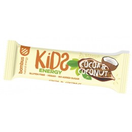 Cocoa & coconut KIDS ENERGY 40g BOMBUS