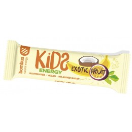 Exotic Fruit KIDS ENERGY 40g BOMBUS