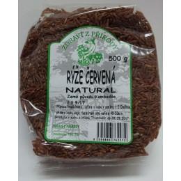 Rýže dlouhozrnná červená natural ZP 500g