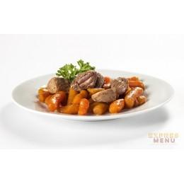 Krůtí maso s baby karotkou 1 porce Expres Menu SCD