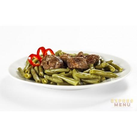 Zelené fazolky s hovězím masem 1 porce Expres Menu
