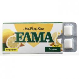 Žvýkačky ELMA s mastichou - citrón