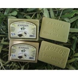 Olivové mýdlo s vůní vanilky 100g
