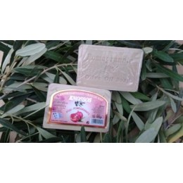 Olivové mýdlo s vůní granátového jablka 100g