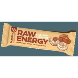 Cashew & coffee RAW tyčinka 50g BOMBUS