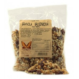 Granola brusinková 200g Natural