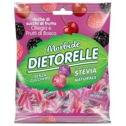 Dietorelle - ovocné želé s příchutí třešně a lesních plodů 70g