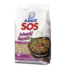 Hnědá rýže s obilninami a quinoou 500g SOS