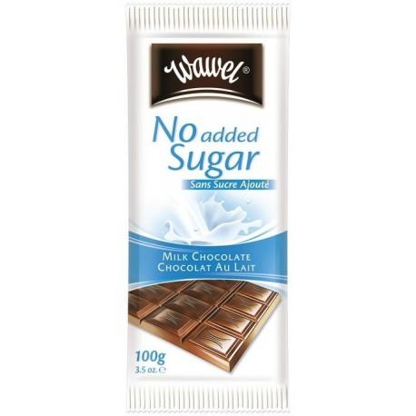 Wawel čokoláda - mléčná s náhradním sladidlem