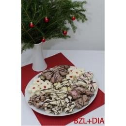 Vánoční bezlepkové pečivo s náhradním sladidlem 1kg
