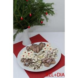 Vánoční bezlepkové pečivo s náhradním sladidlem 200g