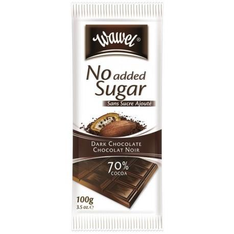 Wawel čokoláda - hořká 70% s náhradním sladidlem