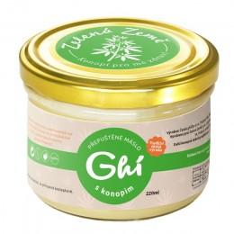 Ghí s konopím – přepuštěné máslo 220 ml ZZ