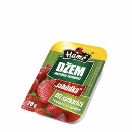 Džem jablečno-jahodový bez sacharózy 20g HAME