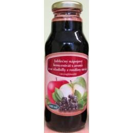 Jablečný nápojový koncentrát s arónií se stévií 300ml