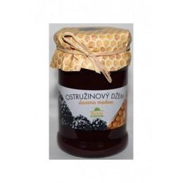 Ostružinový džem slazený medem 275g Kvasnicka