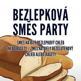 Bezlepková směs PARTY na bílý chléb nebo bagety 500g ADVENI