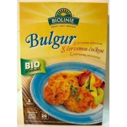 Bulgur s červenou čočkou - bio směs BIOLINIE