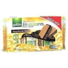 Wafle bez cukru s čokoládovou příchutí 70g GULLON