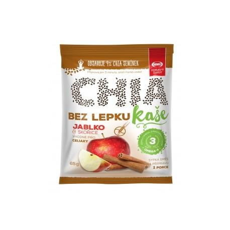 CHIA KAŠE jablko a skořice bez lepku 65 g Semix