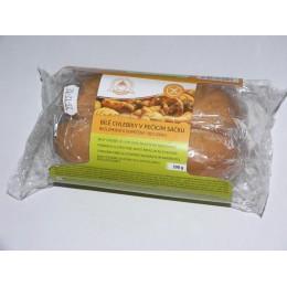 Bílé chlebíky v pečícím sáčku BEZ LEPKU k dopečení 300g Jizerka
