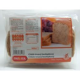 Bezlepkový chléb tmavý 400g PROVITA