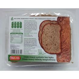 Chléb bez lepku rustikální tmavý 235g PROVITA