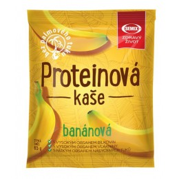 Proteinová kaše banánová 65 g bez sacharózy Semix