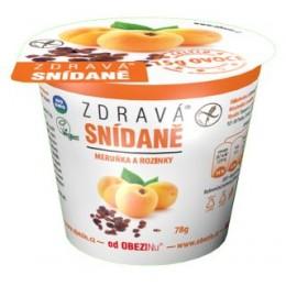Zdravá snídaně meruňka a rozinky 78g bez lepku
