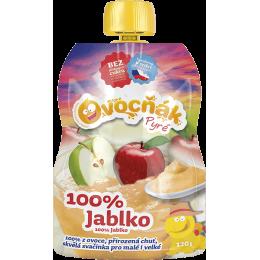 Pyré Jablko 100% bez přidaného cukru 120g Ovocňák