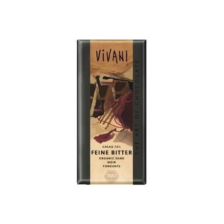 Hořká čokoláda 71% kakao VIVANI