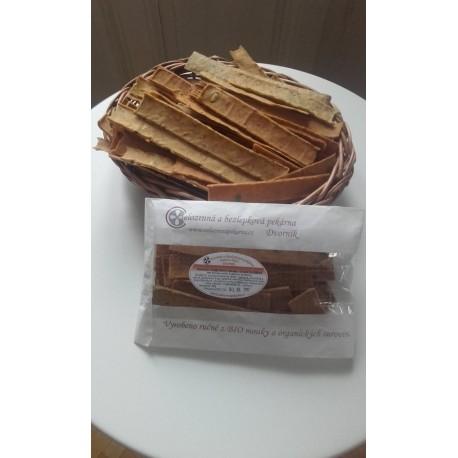 Křupavý chléb bez lepku 80g - s Chia semínky
