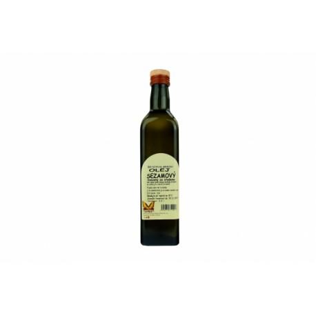 Panenský sezamový olej 500ml NATURAL