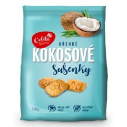 Kokosové sušenky bez lepku 120g SOCO