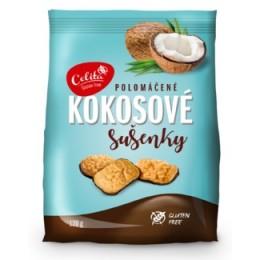 Kokosové sušenky polomáčené bez lepku 120g SOCO