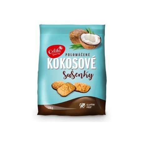 Kokosové sušenky polomáčené 120g SOCO