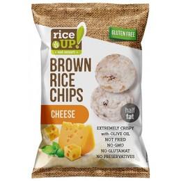 Rýžové chipsy se sýrem 60g RICE UP