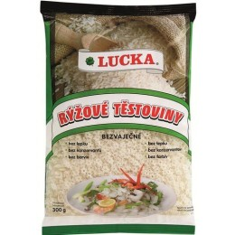 Rýžové těstoviny - polévkové hvězdičky 300g LUCKA
