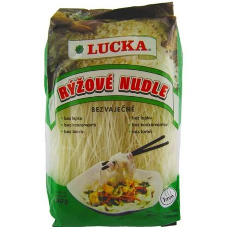 Rýžové těstoviny - nudle 1mm 240g LUCKA.