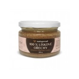 100% lískooříškové máslo Nutspread 250 g