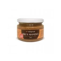 100% mandlové máslo Nutspread Crunchy 250 g